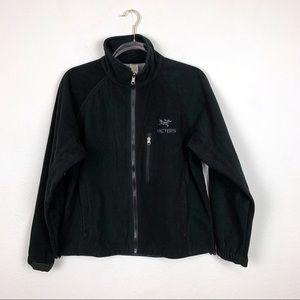 ARC'TERYX Black Zip Up Jacket Size Small